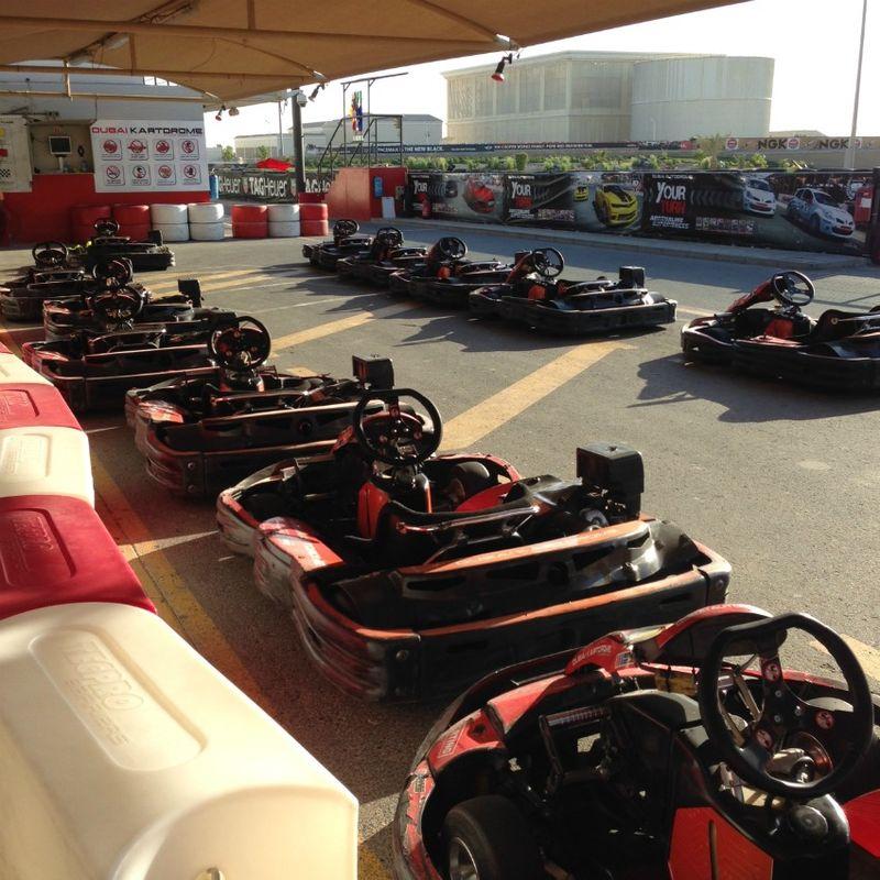 Autodrome Dubai go karts