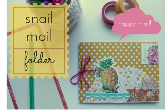 Snail Mail Folder Tutorial Image 1