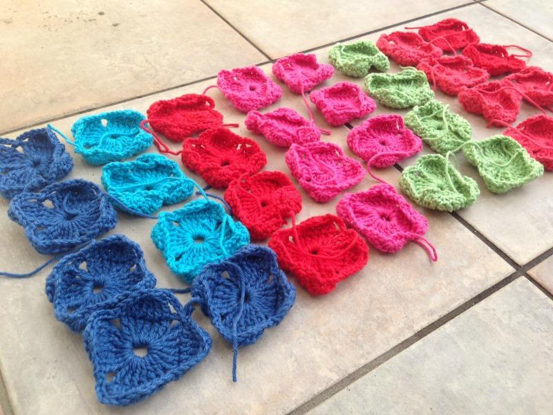 Weekend in stockholm crochet blanket